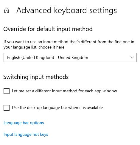 keyboard layout windows change after lock screen unlock