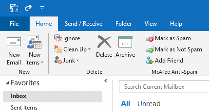 outlook create rule to forward received emails