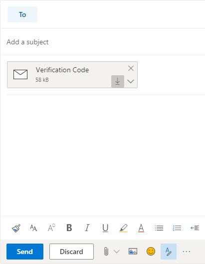 outlook web app export emails download to computer