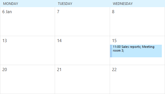 outlook who is invited to meeting in calendar