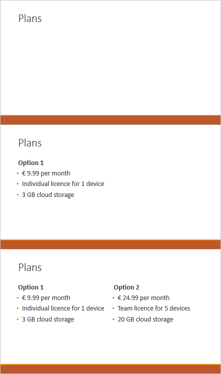 powerpoint preview slide content step by step